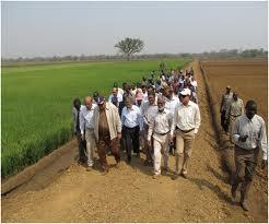 Saudi Billionaire Al-Amoudi on the Saudi star rice Farm in Gambella, Ethiopia