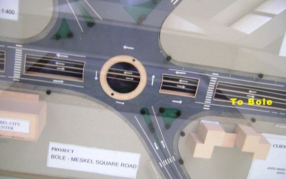 Image - Meskel Square to Bole road design, Addis Ababa City, Ethiopia