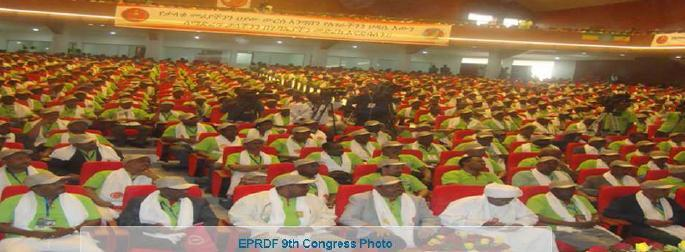 March 2013 - Congress of the Ethiopian ruling party EPRDF - Ethiopian peoples' Revolutionary Democratic Front