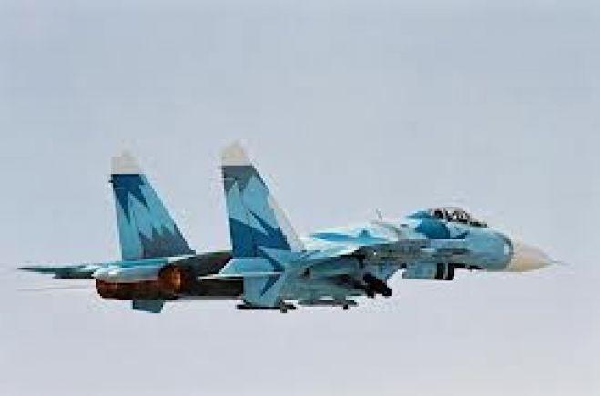 Sukhoi Su-27 military jet of Ethiopian Air Force