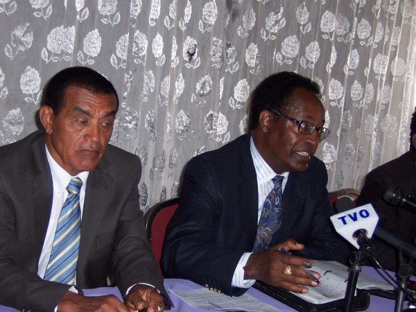 Ethiopia Raeie (Vision) Party - President Teshale Sebro and PR head Getachew Abebe