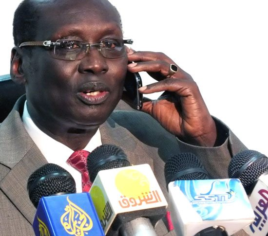Dr. Barnaba Marial Benjamin - Foreign Minister of South Sudan