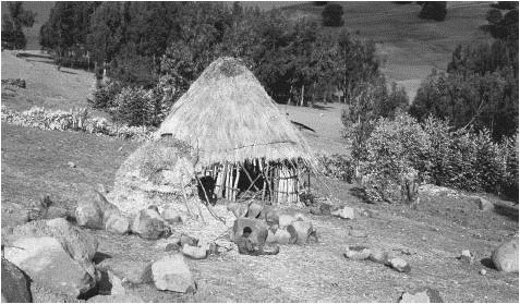 Photo - Traditional Ethiopian rural home