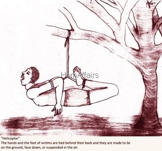 Helicopter - Eritrean torture method