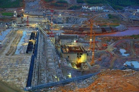 Photo - Grand Ethiopian Renaissance dam project