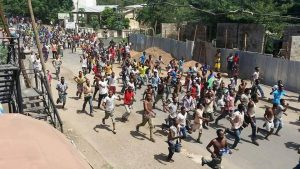 Photo - Gambella city residents protest killings by South Sudan refugees