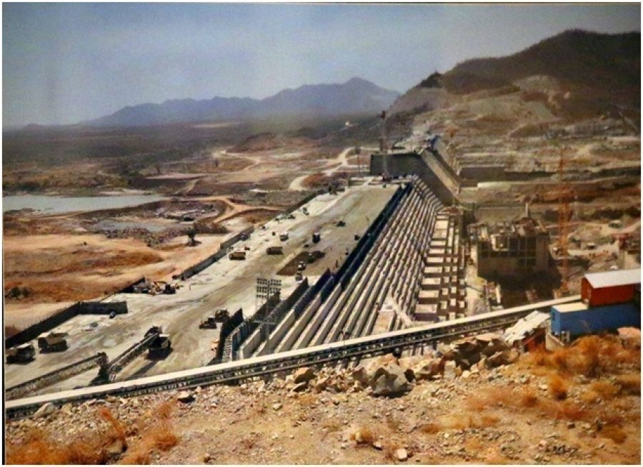 Photo - Grand Ethiopian Renaissance Dam, April 2016