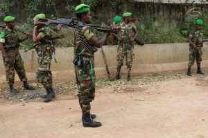 Photo - Ethiopian troops in AMISOM