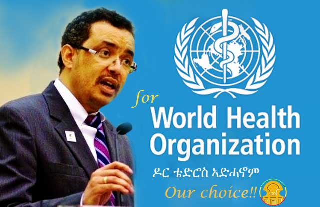 Photo - Tedros Adhanom, WHO Director-General Candidate
