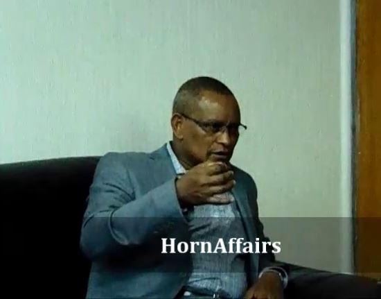 Photo - Debretsion Gebremichael and HornAffairs' Daniel Berhane, Interview, June 2017
