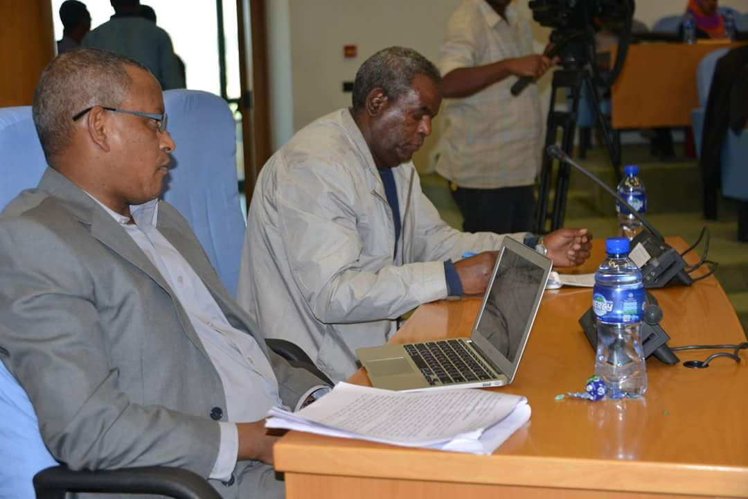Photo TPLF Chairman and Deputy Nov. 2017 - TPLF poised for reform, Azeb Mesfin walks out