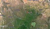 Map - Ethiopia-Sudan common border