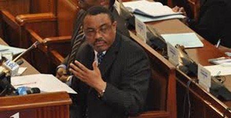 PM Hailemariam Desalegn in Parliament