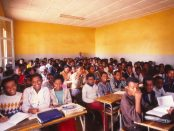 An Ethiopian school