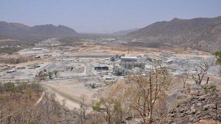 Grand Ethiopian Renaissance dam April 2014