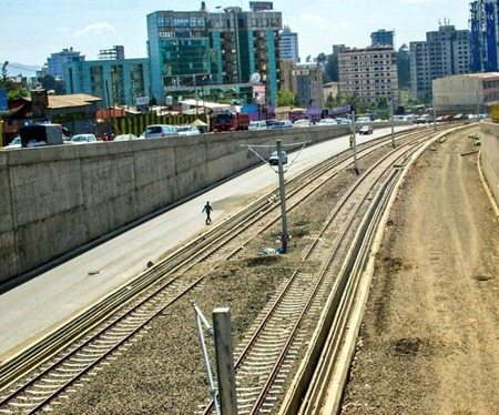 Photo - Addis Ababa light rail project