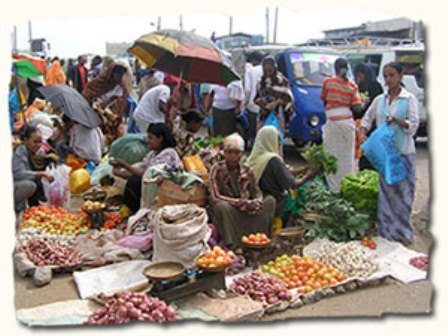 Photo - Merkato market in Addis Ababa, Ethiopia (Photo - Michal Porebiak - Flickr)