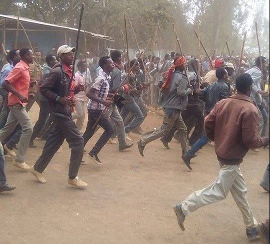 Photo - Oromo protests, Shewa zone