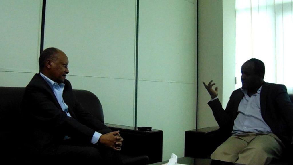 Photo - Abay Tsehaye and Daniel Berhane