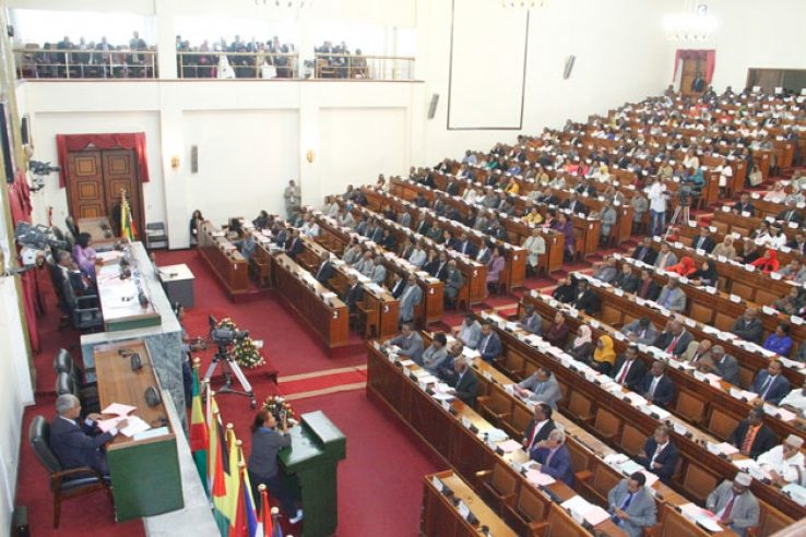 Photo - Ethiopian parliament session