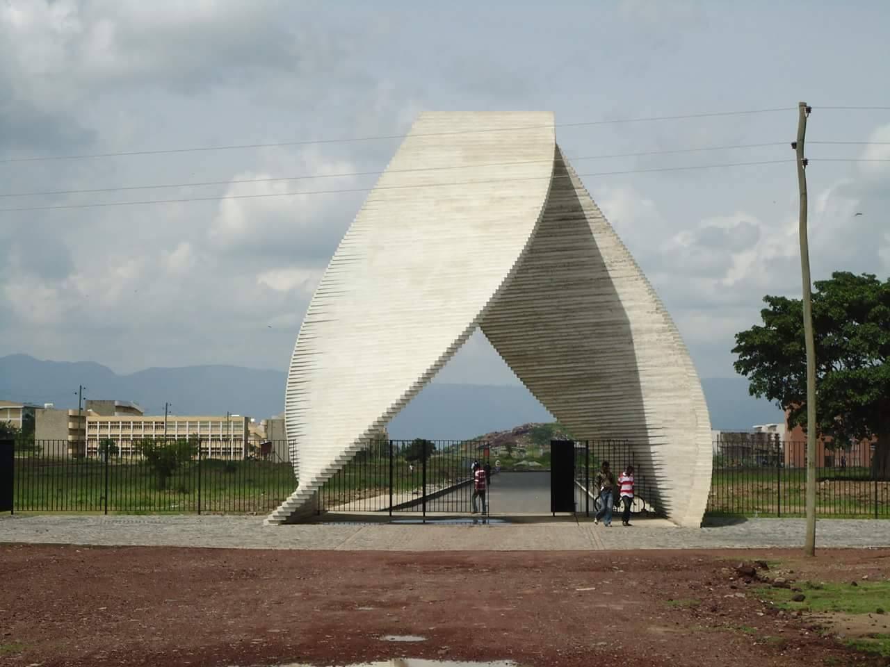 Photo - Hawassa University main gate