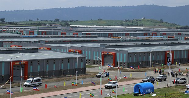 Photo - Hawassa Industrial Park [Credit:AddisFortune]
