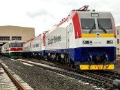 Photo - The 756 km Ethiopia - Djibouti railway was inaugurated on October 5 [Credit: Railway Gazette]