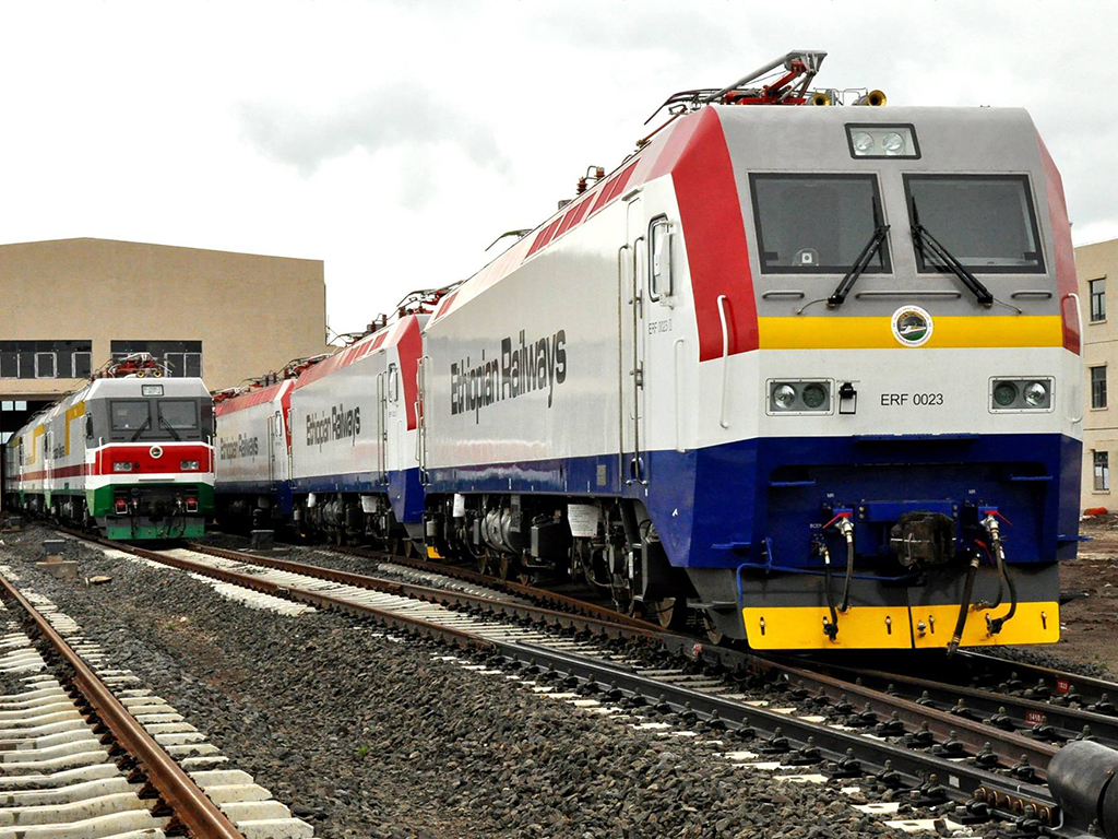 Photo - The 756 km Ethiopia - Djibouti railway was inaugurated on October 5 [Credit: Railway Gazette]