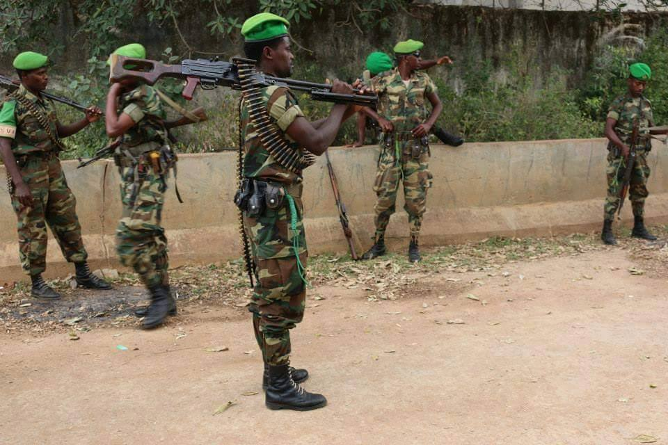 Photo – Ethiopian troops in AMISOM