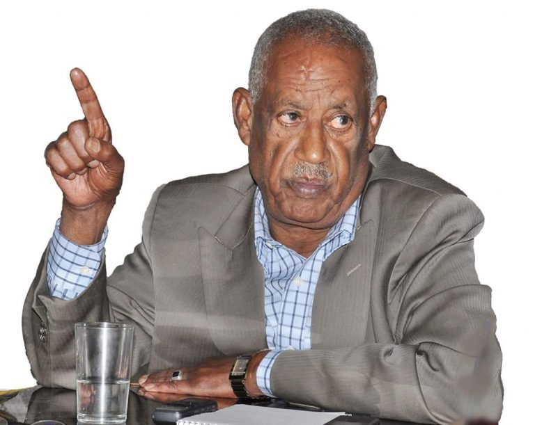 Photo - Sebhat Nega, EPRDF and TPLF veteran