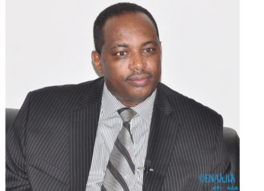 Photo - Shiferaw Shegute, head of EPRDF secretariat