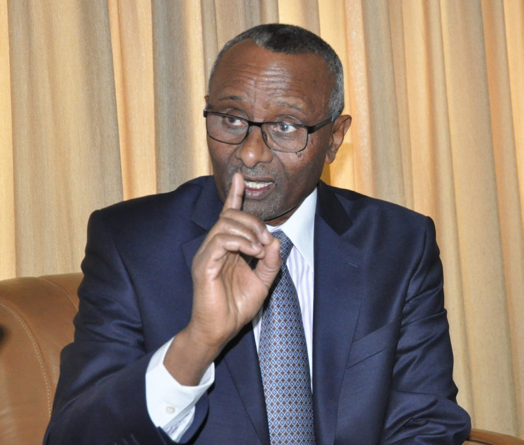 Photo - Addisu Legesse, frm. Dep. Prime Minister and frm. chairman of ANDM-EPRDF
