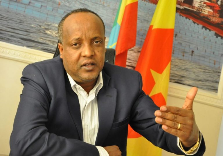 Photo - Alemnew Mekonen, executive member of ANDM/EPRDF and head of ANDM Secretariat