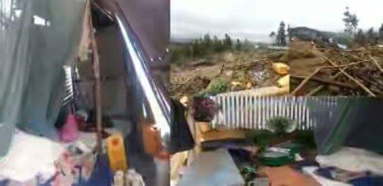 Photo - Landslide at Addis Ababa Qoshe Landfill, March 12, 2017