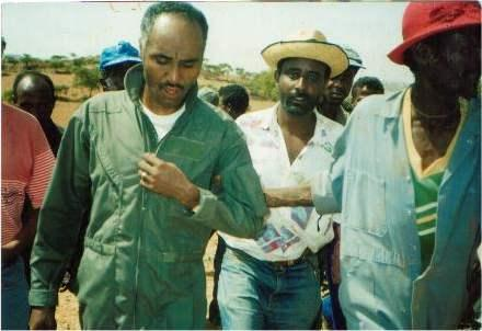 Photo - Col Bezabh Petros in Eritrea after capture