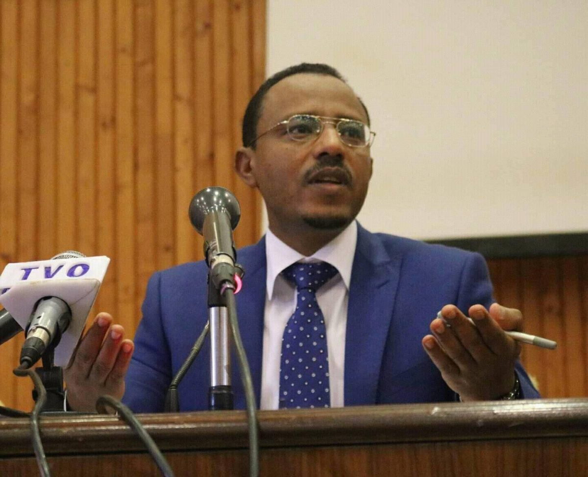 Photo - Oromia President Lemma Megersa