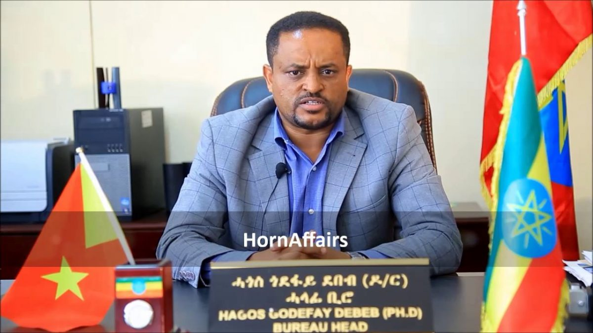 Photo - Tigray Health Bureau head Hagos Godefay (PhD)