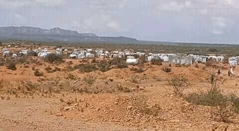Photo - Displaced people camp in Raso, Afder zone, Ethio-Somali region