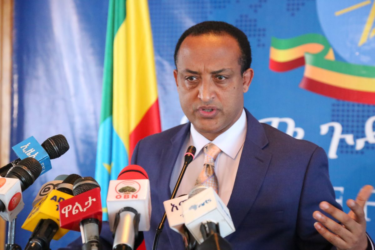 Photo - Meles Alem, Spokesperson of Ethiopian Ministry of Foreign Affairs