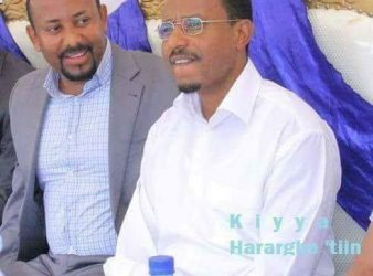 Photo - OPDO chair and deputy, Abiy Ahmed and Lemma Megersa