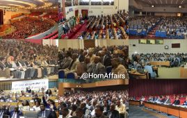 Photo - Collage of various Ethiopian meetings