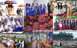 Photo - Collage of various Ethiopian religious events