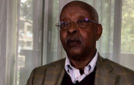 Photo - Lencho Leta, chairperson of Oromo Democratic Front (ODF)