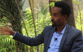 Photo - Kidane Amene - Coordinator of Baitona party