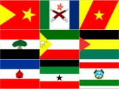 FDRE States flags
