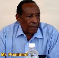 Somaliland President Ahmed Mohamed Mohamud - aka Silanyo