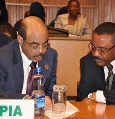 meles zenawi and hailemariam desalegne
