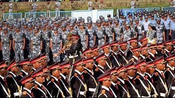 Ethiopian Military parade in Addis Ababa for Defence Forces' Day