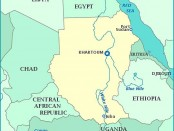Map - Ethiopia Egypt Nile river