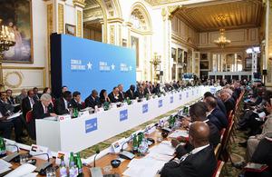 Somalia Conference 2013: Communiqué
